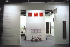 Booth at Arco Madrid, 1997, Madrid, Spain