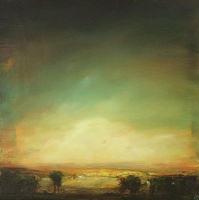 Untitled (Edge of Lake), David Bierk, 1992