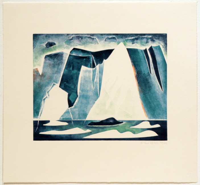 High Arctic, Doris McCarthy, 1973-2011