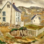 Paul's House at Twillingate, Doris McCarthy, 1987