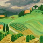 Storm Coming to the Tree Farm, Doris McCarthy, 2000