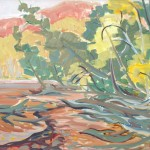 Edge of the Lake, Haliburton, Doris McCarthy