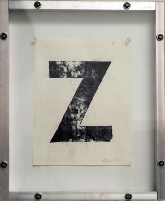 Z, Greg Curnoe, 1990
