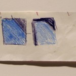 Carres Bleus, Guido Molinari, 1969