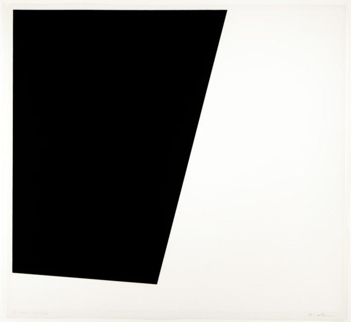 Untitled Noir-Blanc, Guido Molinari