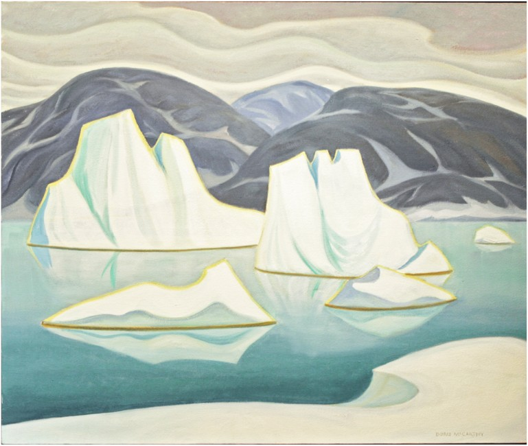 Iceberg and Floes, Doris McCarthy, 1998