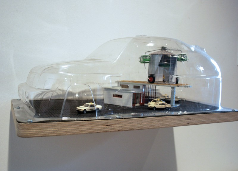 Auto Office Haus, 1997 (Model for Skulptur Projekte '97, Munster), Kim Adams, 2003