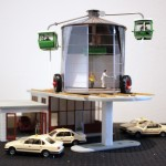 Auto Office Haus, 1997 (Model for Skulptur Projekte '97, Munster) (detail), Kim Adams, 2003
