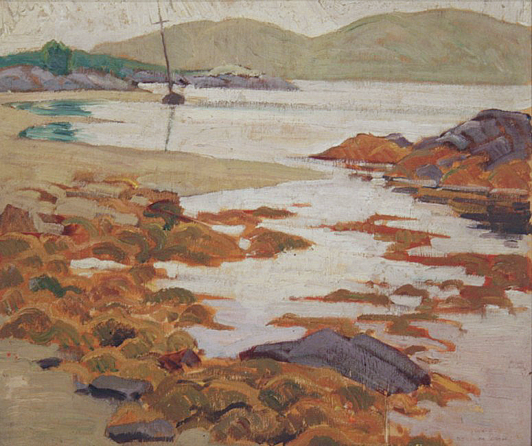 Sea at Malaig, Scotland, Doris McCarthy, 1936