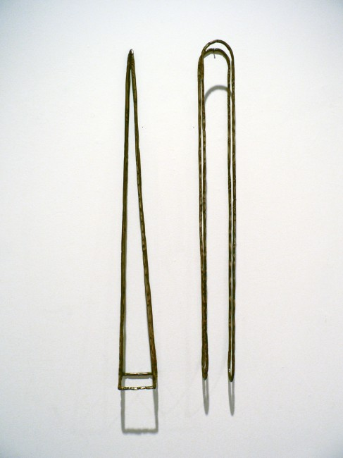 Untitled work in brass #1, Ted Rettig, 1977