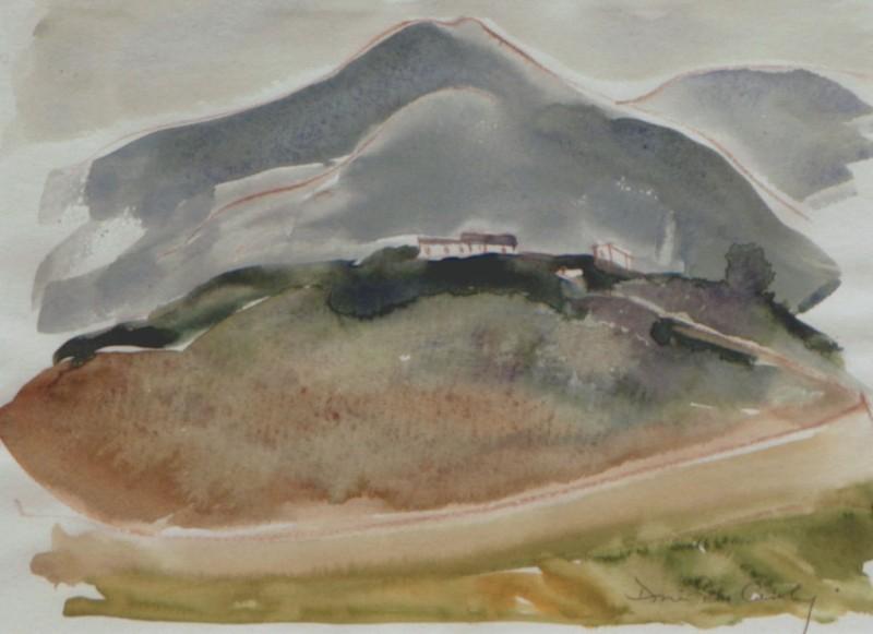 Yangtze River #5, Doris McCarthy, 1998