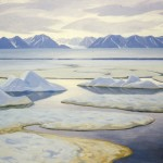 Pond Inlet looking towards Bylot, Doris McCarthy, 1983