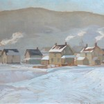 Haliburton, New Years Eve Day, Doris McCarthy, 1940