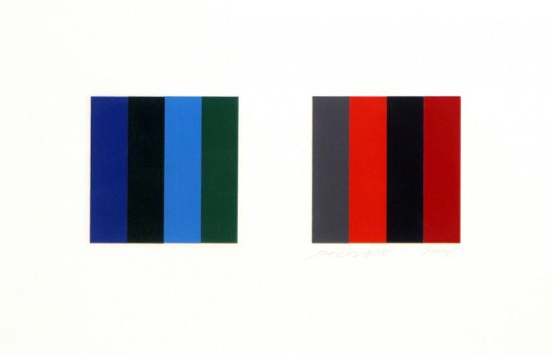 Twelve Colour Pair Study, Jaan Poldaas, 1996