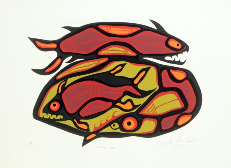 Loon and Fish