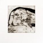"""1975, etching,12"""" x12""""  image, AP II"""