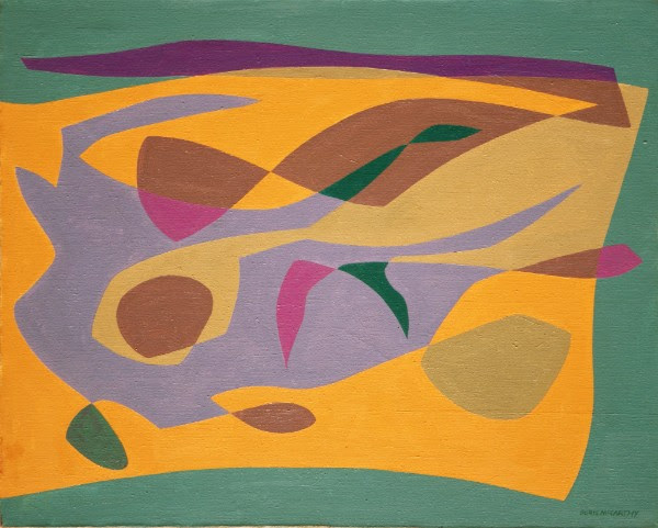 "Doris McCarthy, 1968, oil on canvas, 24"" x 30"""
