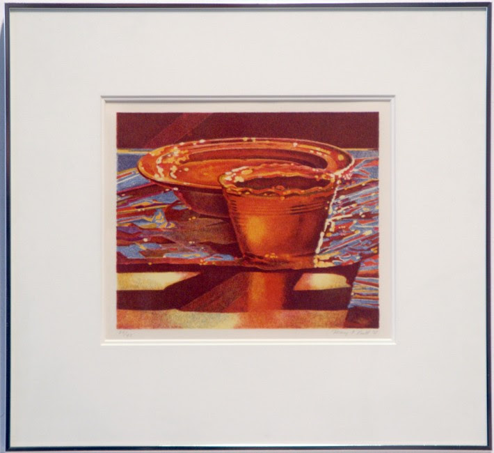 "Mary Pratt, Jelly, 1978, original 14 stone colour lithograph on paper, 7"" x 8.5"", 39/43"